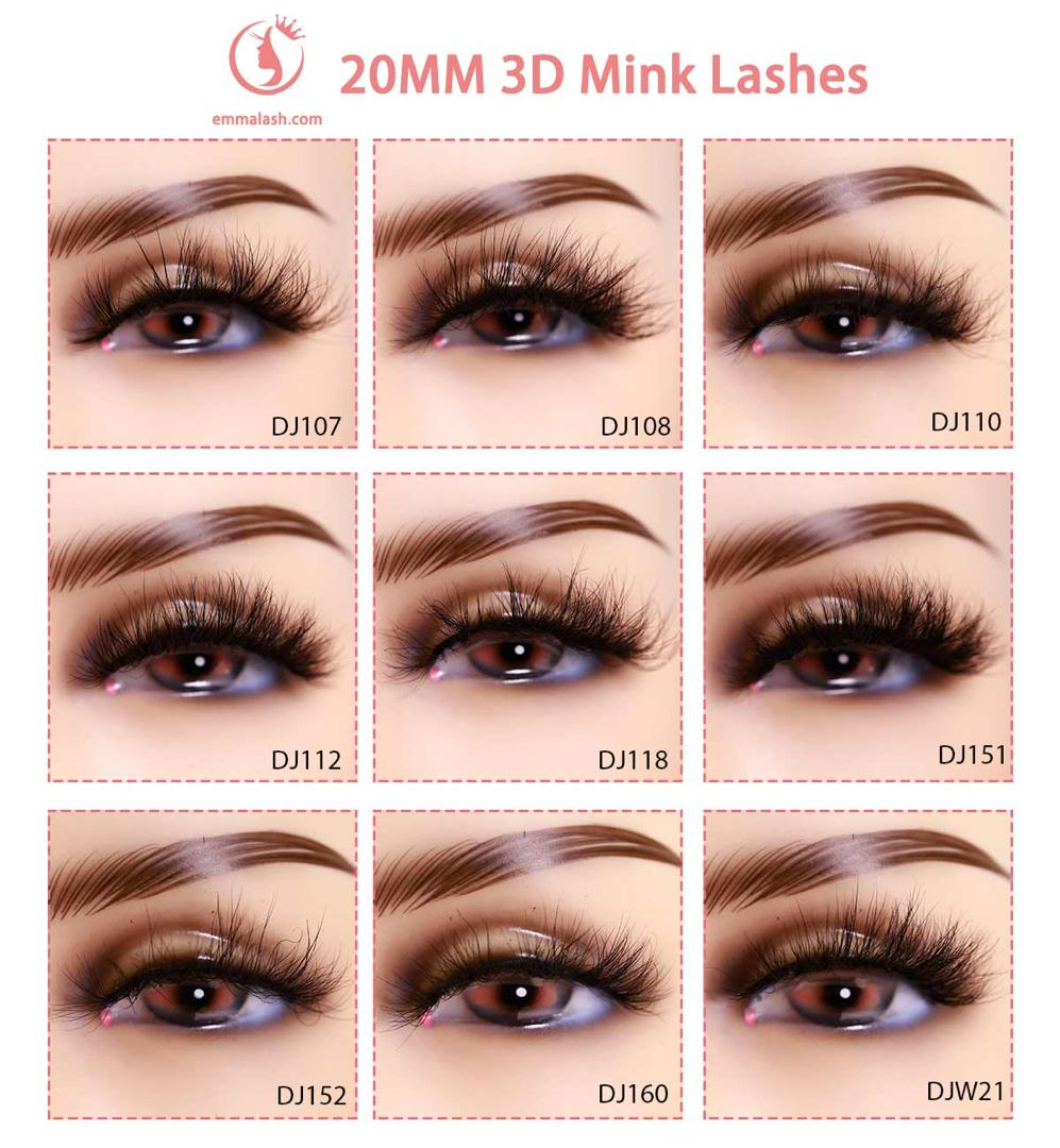 wholesale mink lashes 20mm