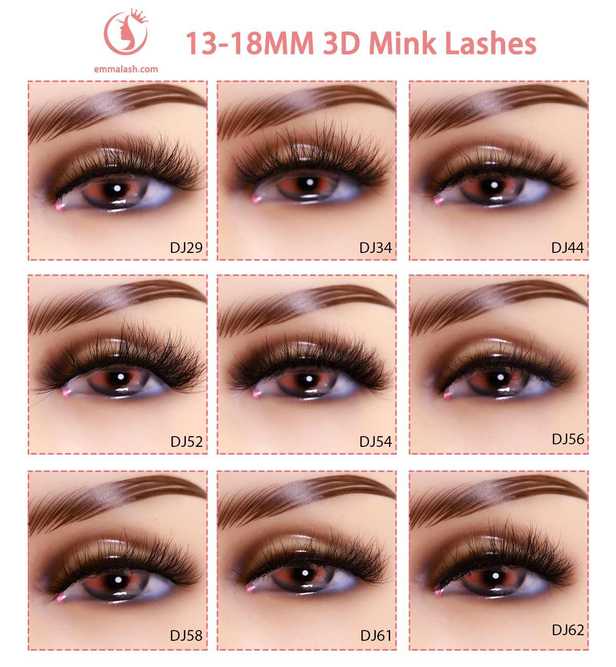 wholesale mink lashes Model 18mm 2