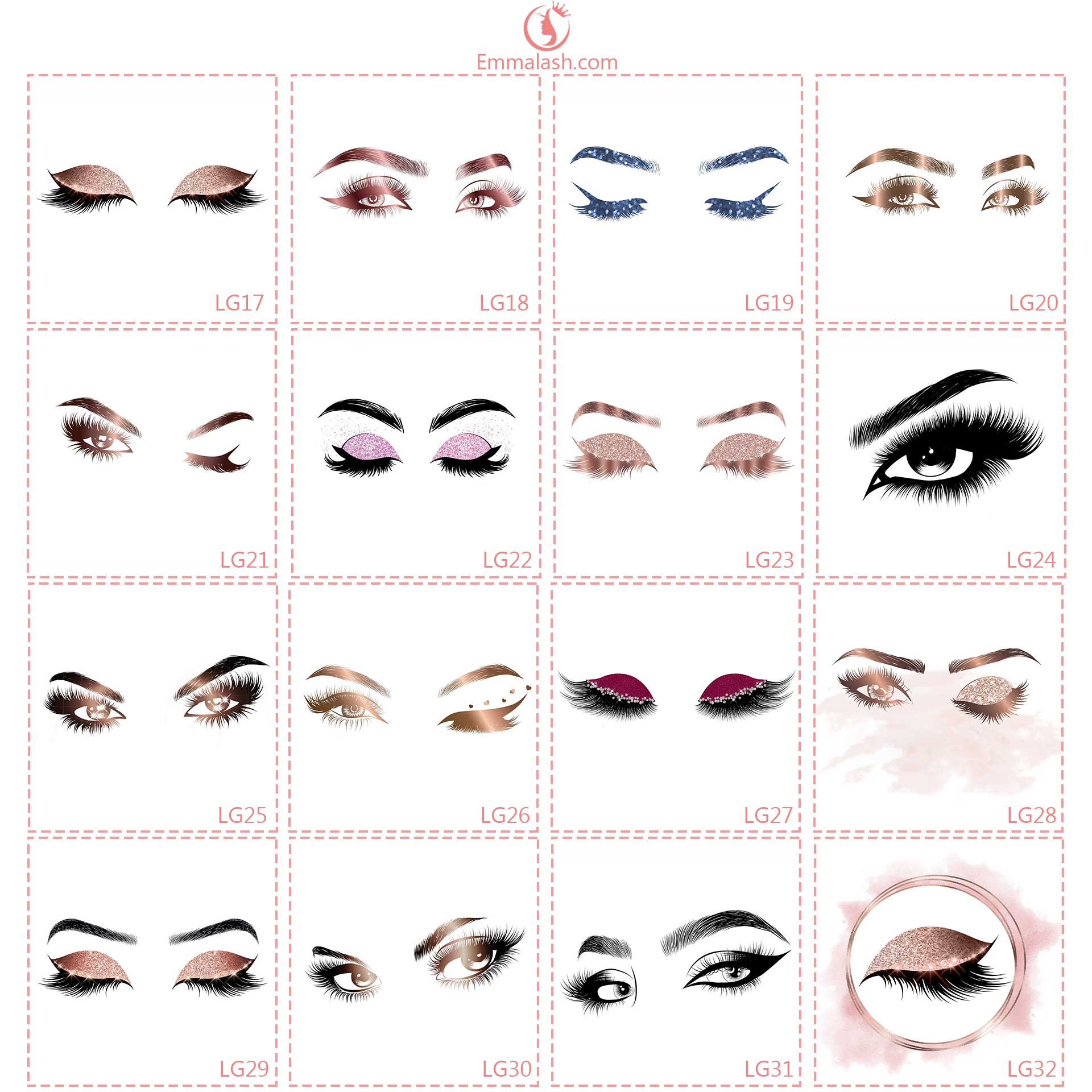wholesale mink lashes general logo