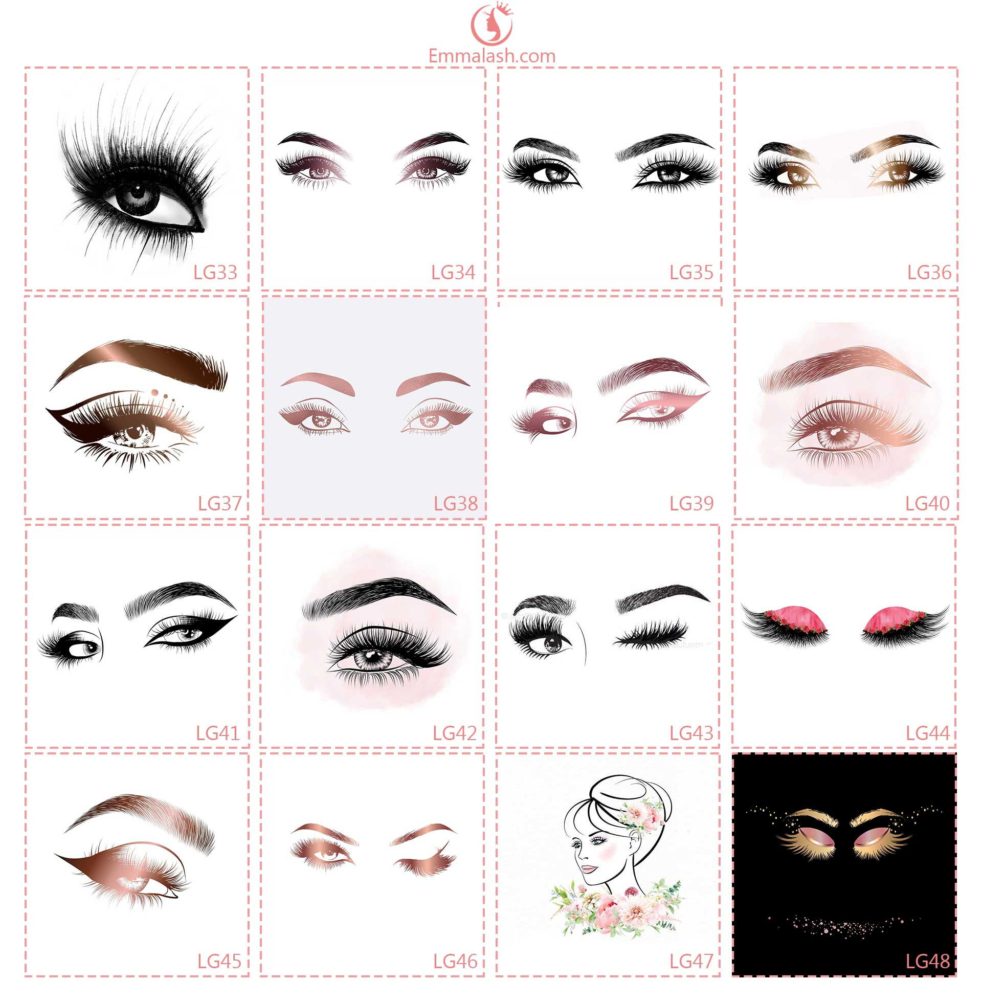 wholesale mink lashes free logo