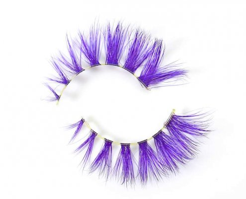 Wholesale colorful mink lashes CD88