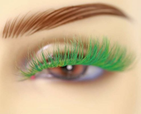 Wholesale colorful mink lashes CD26