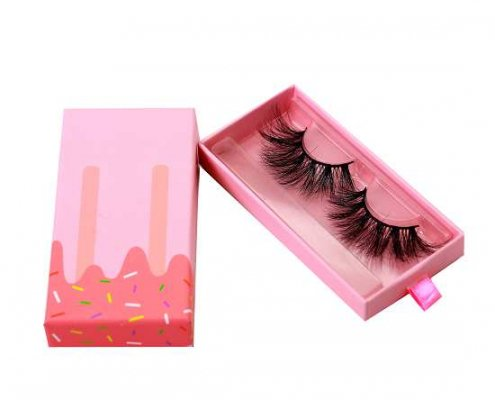 Ice cream lashes packaging