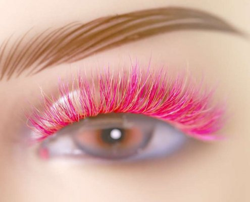 Wholesale colorful mink lashes CD21