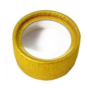 Wholesale gold glitter lash cases from mink-lashes vendor