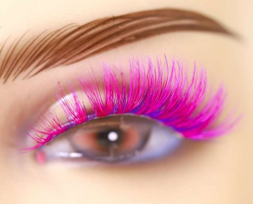 Wholesale colorful mink lashes CD34