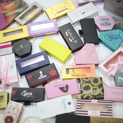 custom eyelash packagings