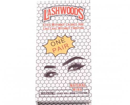 white lashwoods lashes packagings from mink lashes vendor
