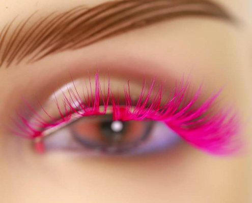 Wholesale colorful mink lashes CD87