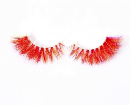 Wholesale colorful mink lashes CD98