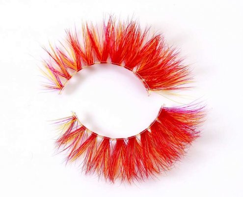 Wholesale colorful mink lashes CD98