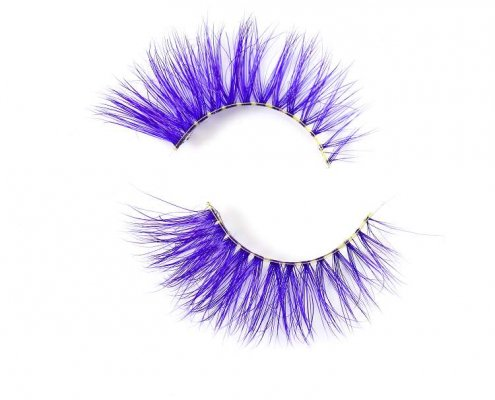 Wholesale colorful mink lashes CD78