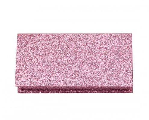 wholesale pink glitter lash boxes
