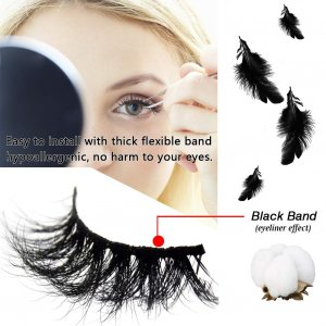high-quality mink lashes with good raw material