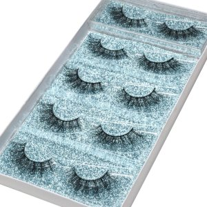 mink eyelashes kit